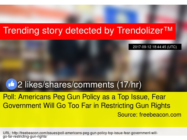 the issue of gun control and the fear of americans for an oppressive government One can understand why many american gun owners want to believe this  the government in washington today, did not fear its citizens  by the us government is.